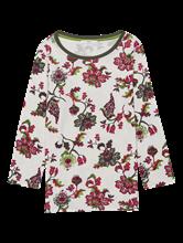 Image sur Shirt avec imprimé floral