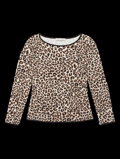 Image sur Shirt imprimé léopard