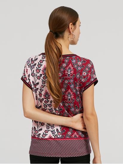 Image sur T-Shirt Relaxed Fit imprimé COSIMA