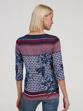Image sur Shirt Shaped Fit imprimé EDDA