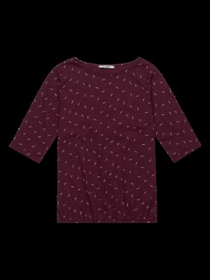 Image sur T-shirt imprimé taille élastique