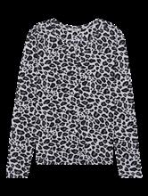 Image sur Shirt manches longues imprimé léopard