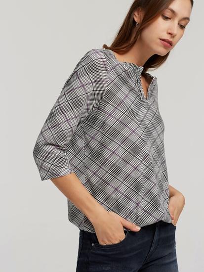 Bild von Shirt mit Karo