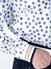 Bild von Blusenshirt mit Punkten