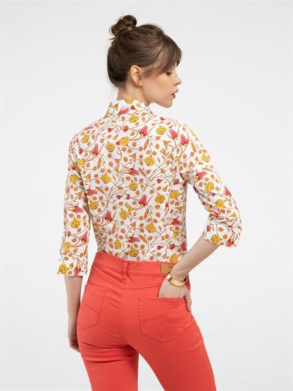 Bild von Bluse mit Blumen-Print