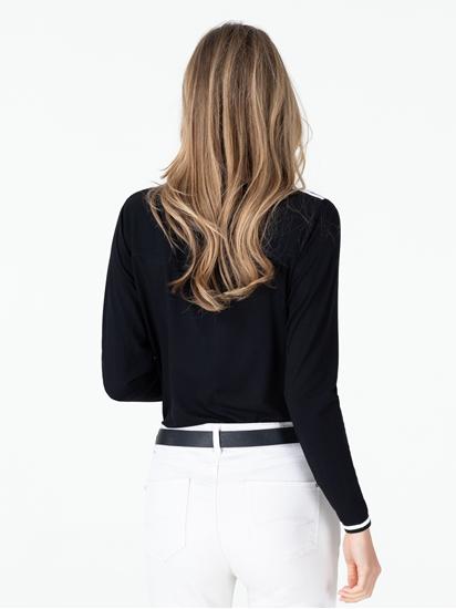 Image sur Shirt avec rayures latérales