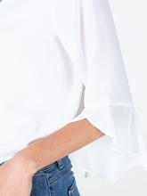 Image sur Blouse avec manches à volants