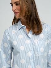 Bild von Bluse mit Streifen und Punkten VICTORIA