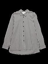 Bild von Oversized Bluse mit Vichy-Karo