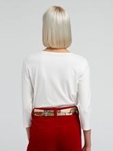 Bild von Bluse aus Material-Mix CLARISSA