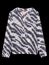 Bild von Blusenshirt mit Zebra-Print