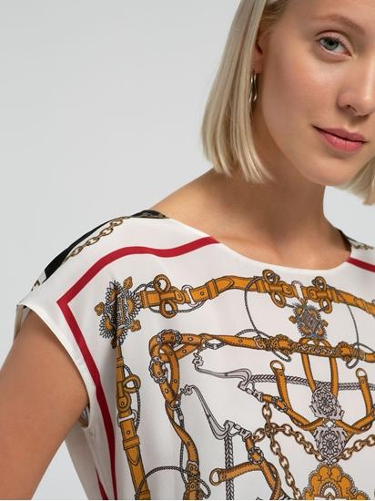 Bild von T-Shirt aus Seide mit Print