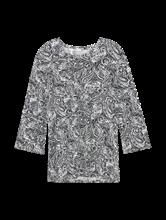 Bild von Jerseyshirt mit Paisley-Muster CLARA