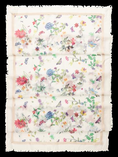 Image sur Foulard avec imprimé fleuri