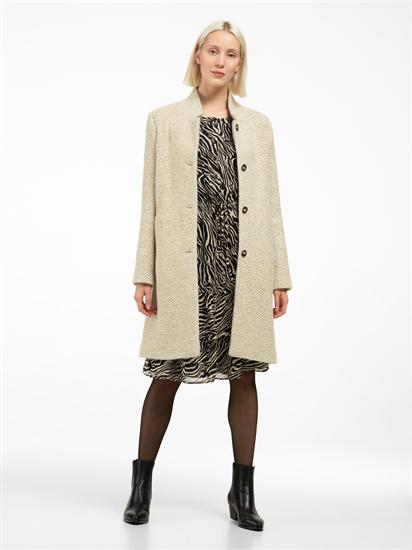 Bild von Mantel mit Fischgrat-Muster