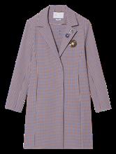 Image sur Manteau motif à carreaux texturé