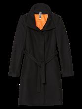 Image sur Manteau laine ceinture à nouer