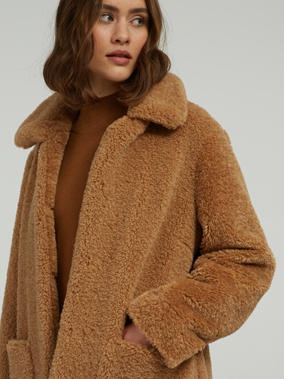 Image sur Manteau teddy
