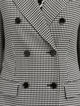 Image sur Blazer double boutonnage motif pied-de-poule