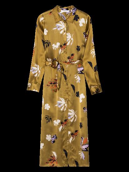 Bild von Kleid aus Seide mit Blumen-Print