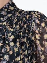 Bild von Kleid mit Leo- und Blumen-Print