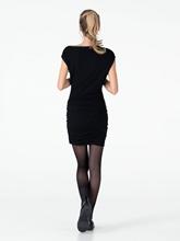 Bild von Kleid mit Raffung und Nieten