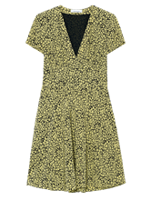 Image sur Robe avec imprimé fleuri