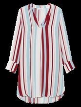 Image sur Robe chemisier à rayures