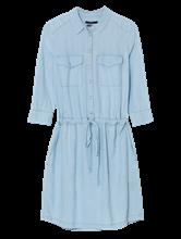 Bild von Blusenkleid in Denim-Optik