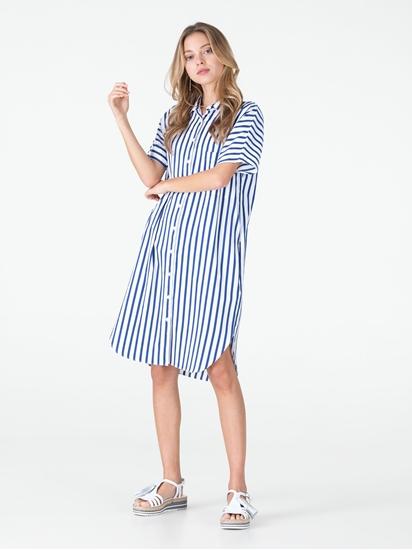 Bild von Hemdkleid mit Streifen