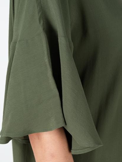 Bild von Kleid mit Volant am Ärmel