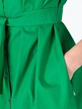 Image sur Robe chemisier avec ceinture à nouer