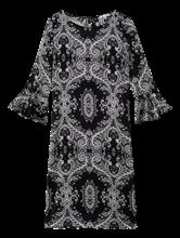 Image sur Robe imprimée et manches à volants
