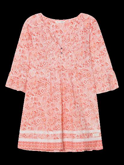 Bild von Kleid mit Biese und Paisley-Print