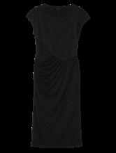 Bild von Jersey Kleid in Wickel-Optik
