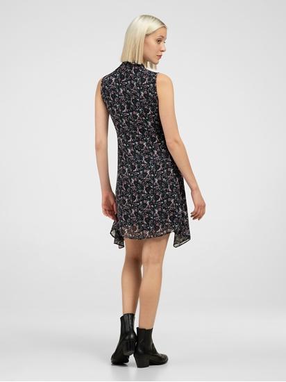 Bild von Kleid mit Print in Wickeloptik