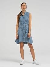 Bild von Jeans Kleid mit Bindegürtel FRANCIS