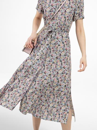 Bild von Blusenkleid mit Blumenprint