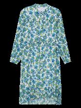 Image sur Robe avec volants et imprimé fleurs