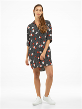 Bild von Blusenkleid mit Blumen-Print
