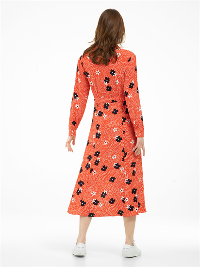 Image sur Robe chemisier avec imprimé floral