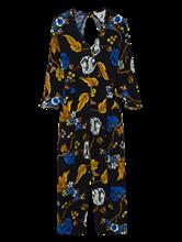 Image sur Overall avec motif floral                                                                                                                                                                                                                                                                                                                                                            Overall avec motif floral