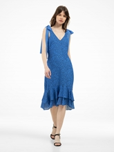 Bild von Kleid mit Punkten und Volants