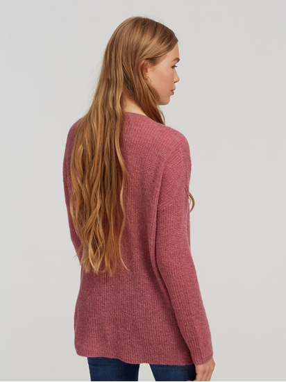 Bild von Oversized Pullover mit Rippen