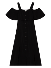 Bild von Kleid mit Carmen-Ausschnitt