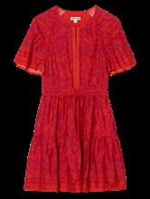 Image sur Robe imprimée à volants