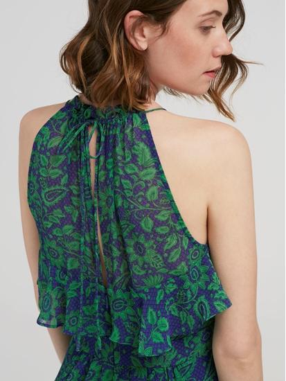 Bild von Kleid mit Print und Volants
