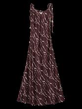 Image sur Robe à bretelles imprimée