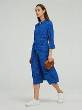 Bild von Blusenkleid mit Punkten