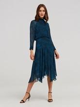 Bild von Kleid mit Leo-Print CARLOTTA
